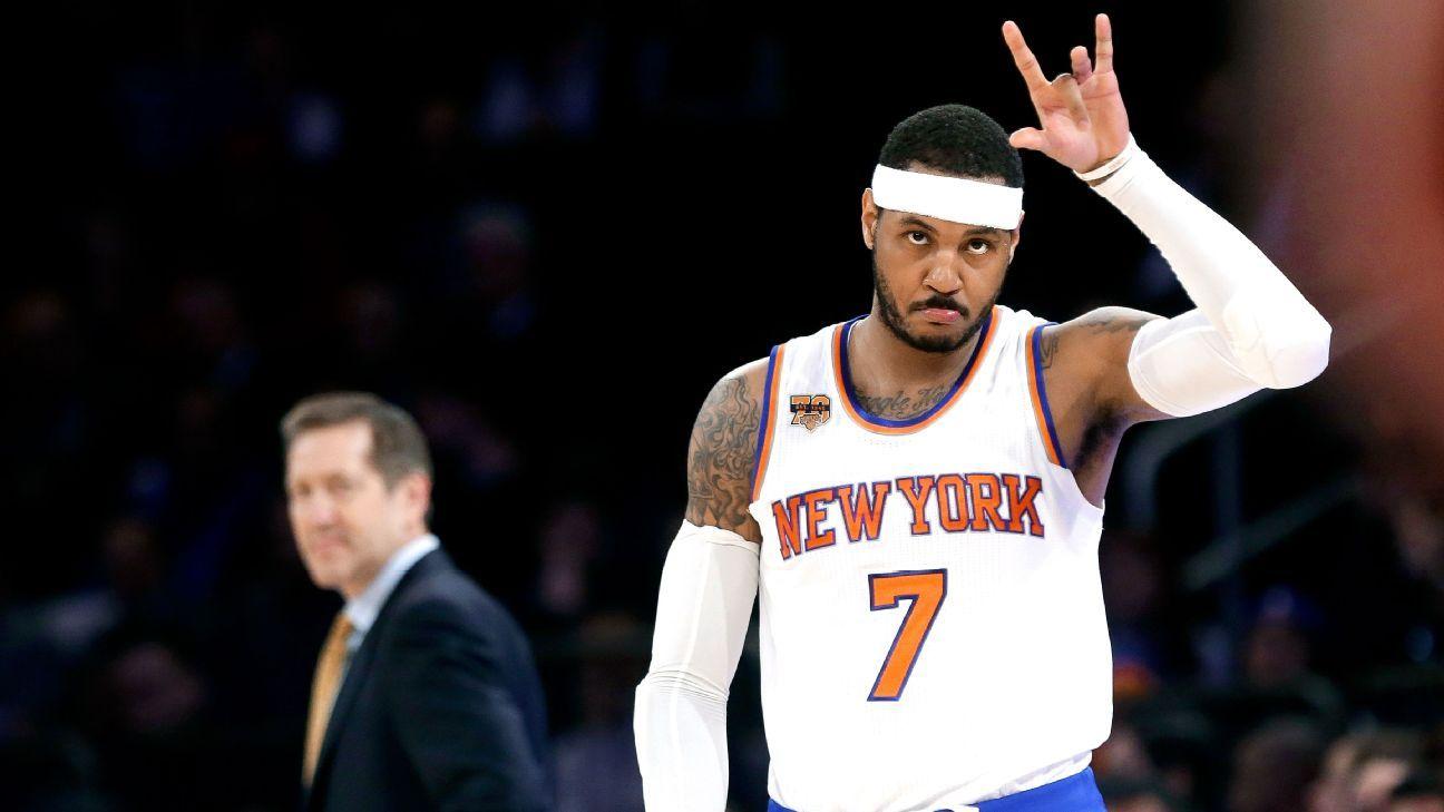 edb8e8aeb New York Knicks agree to trade Carmelo Anthony to Oklahoma City Thunder