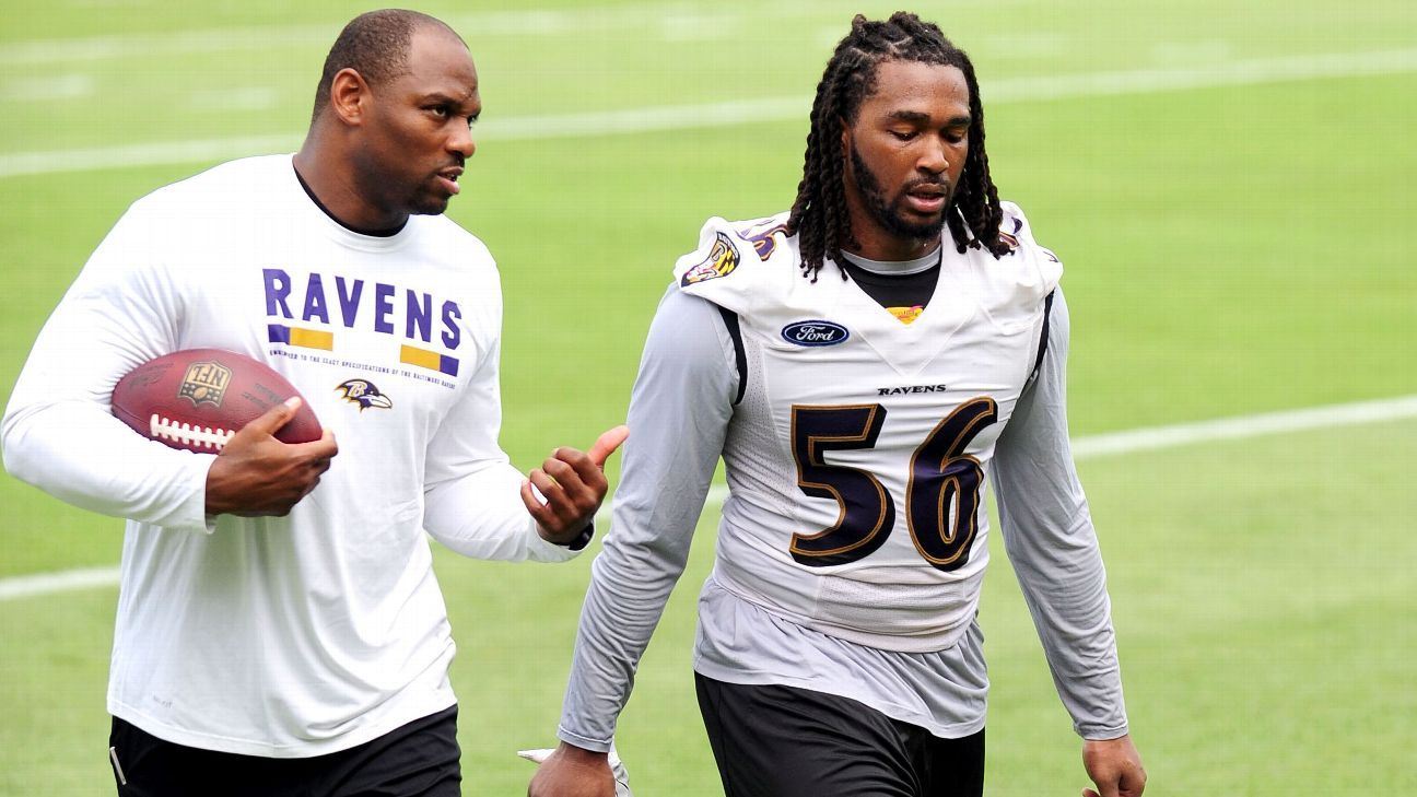 new style 118e2 cde94 Tim Williams excels in Baltimore Ravens' first padded ...