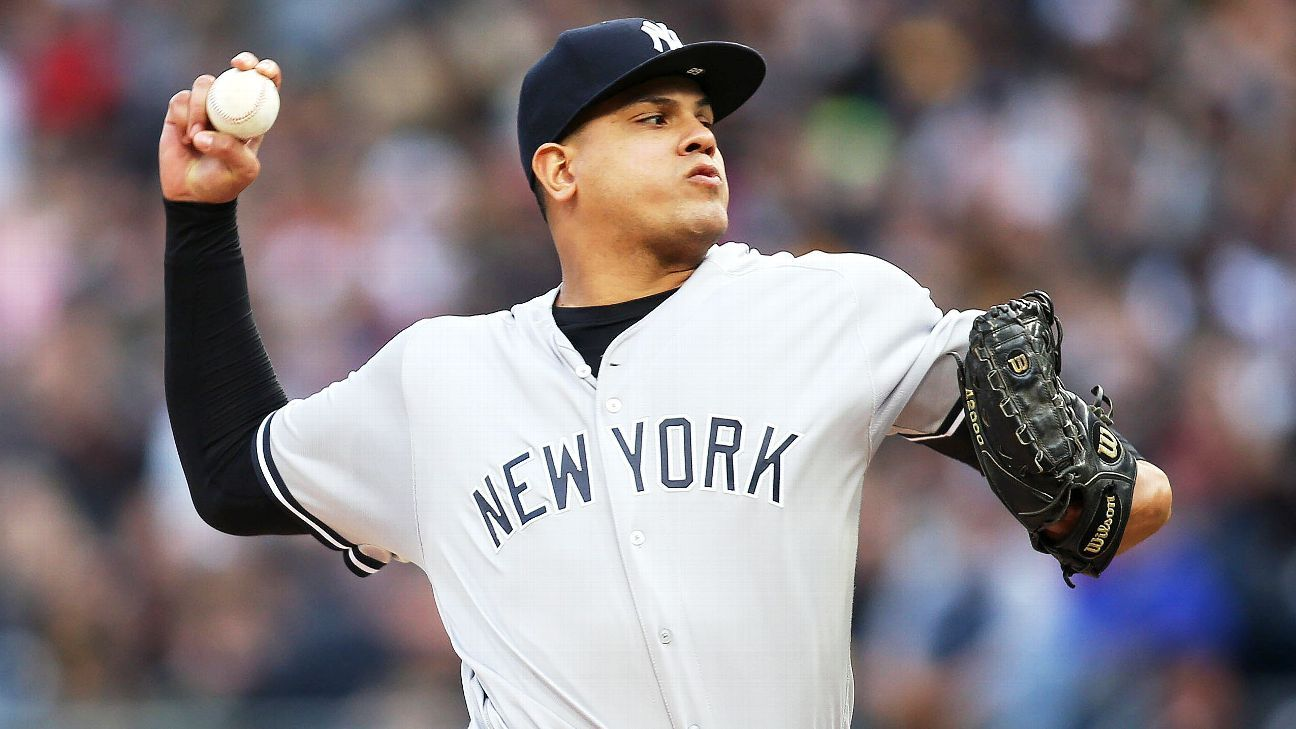 Yankees activate RHP Betances from 60-day IL