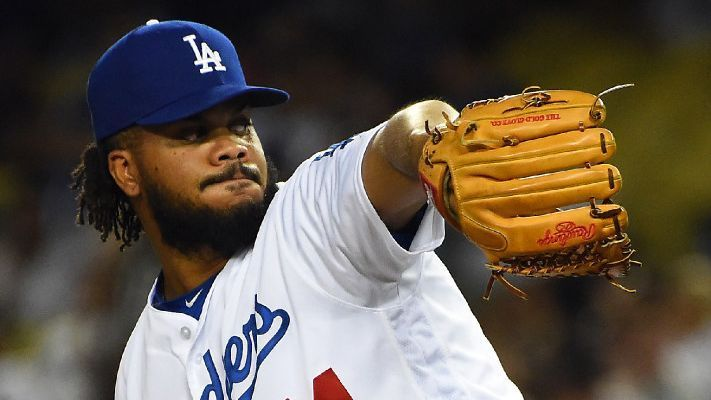 bf8ccaec561 Los Angeles Dodgers closer Kenley Jansen won t make road trip to Colorado