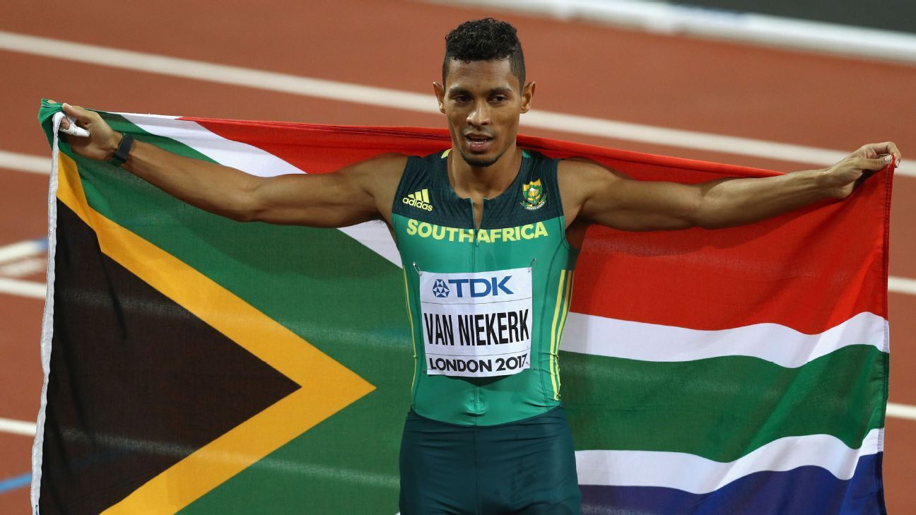 Wayde van Niekerk to use Olympics delay to continue knee rehab