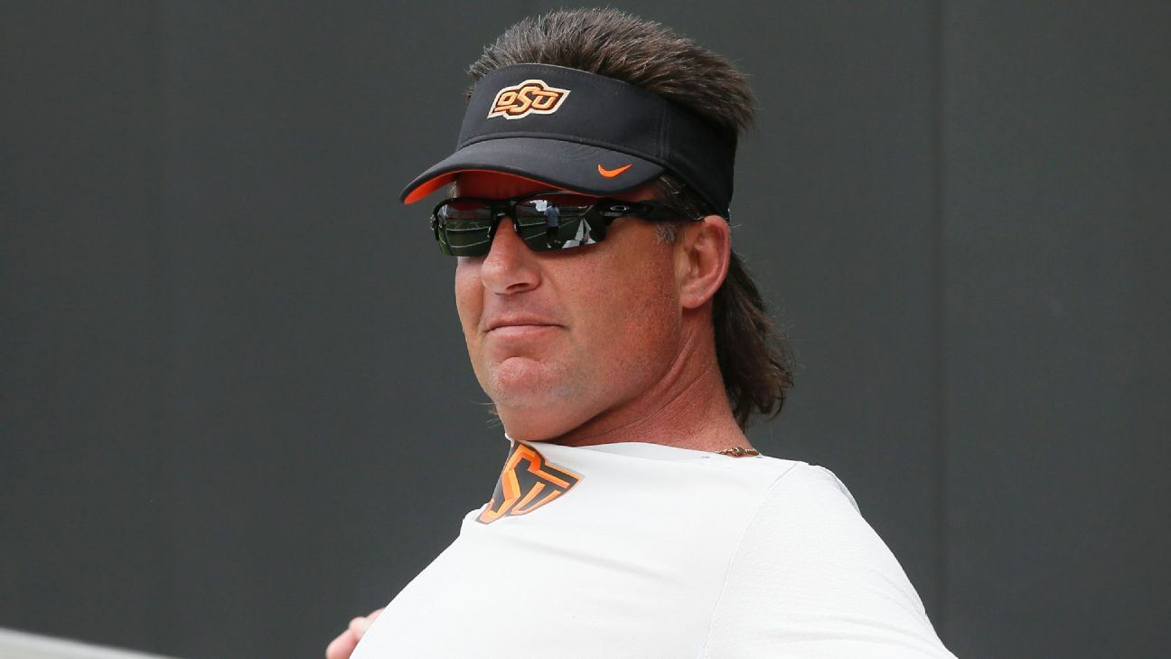 Oklahoma State Cowboys Mike Gundy Reflects On His Rant 10