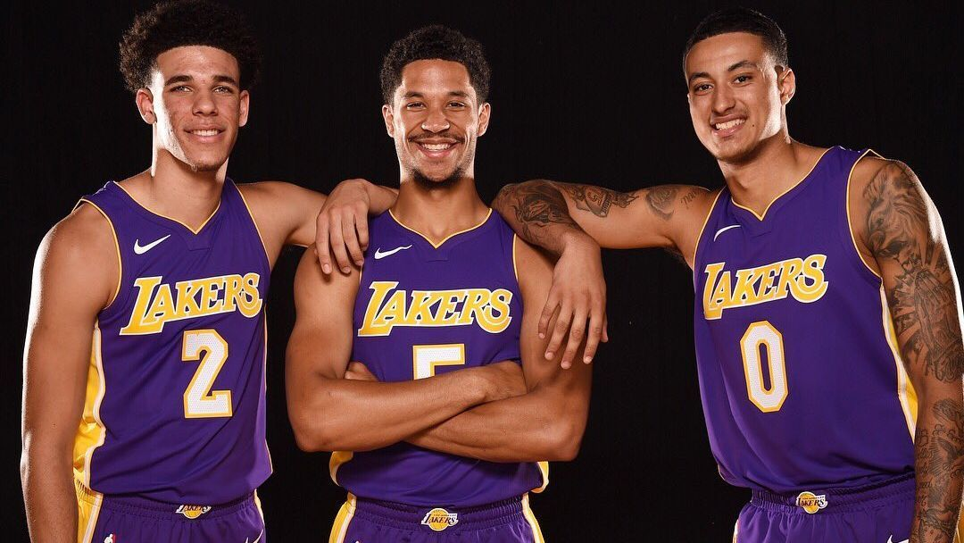 d57df515f32f Check out Los Angeles Lakers  new alternate uniforms