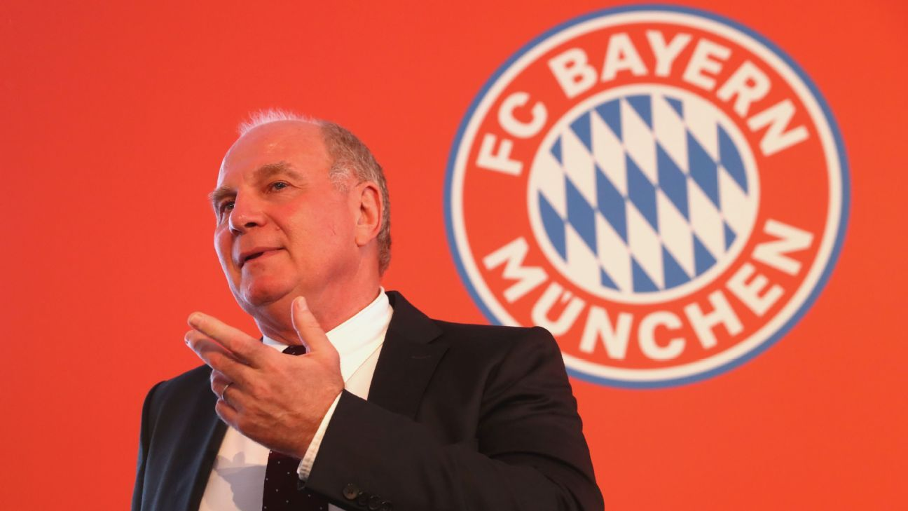 Hoeness steps down after 40-plus years at Bayern
