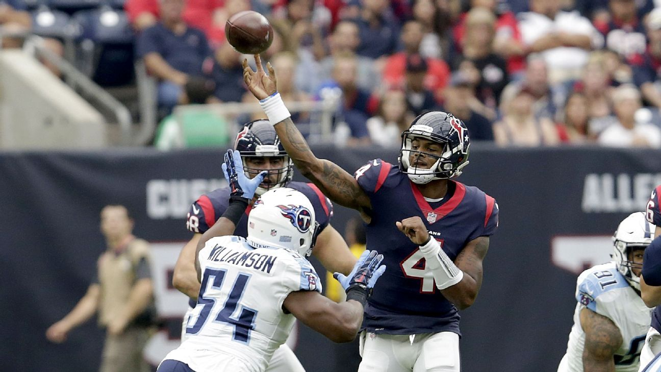 9b7276fef Deshaun Watson has Houston Texans feeling they can score at will - Houston  Texans Blog- ESPN