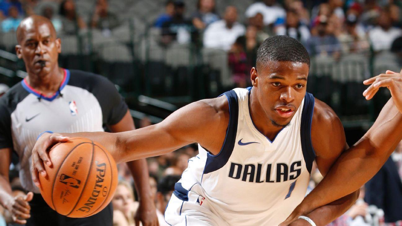 bd29520ffcf LeBron James of says Dennis Smith Jr. of Dallas Mavericks  should be a Knick