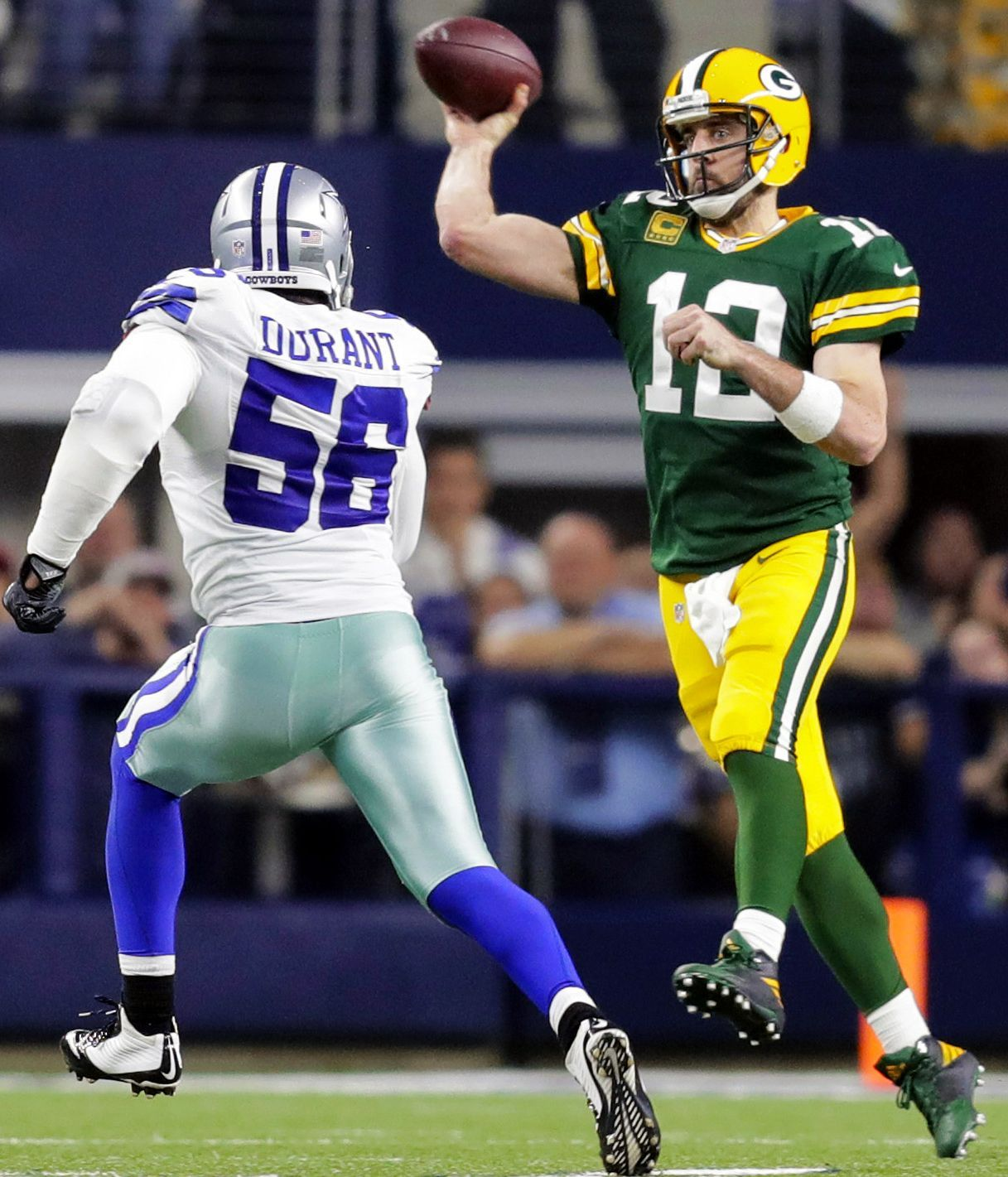 How Green Bay Packers Booted Dallas Cowboys From 2016