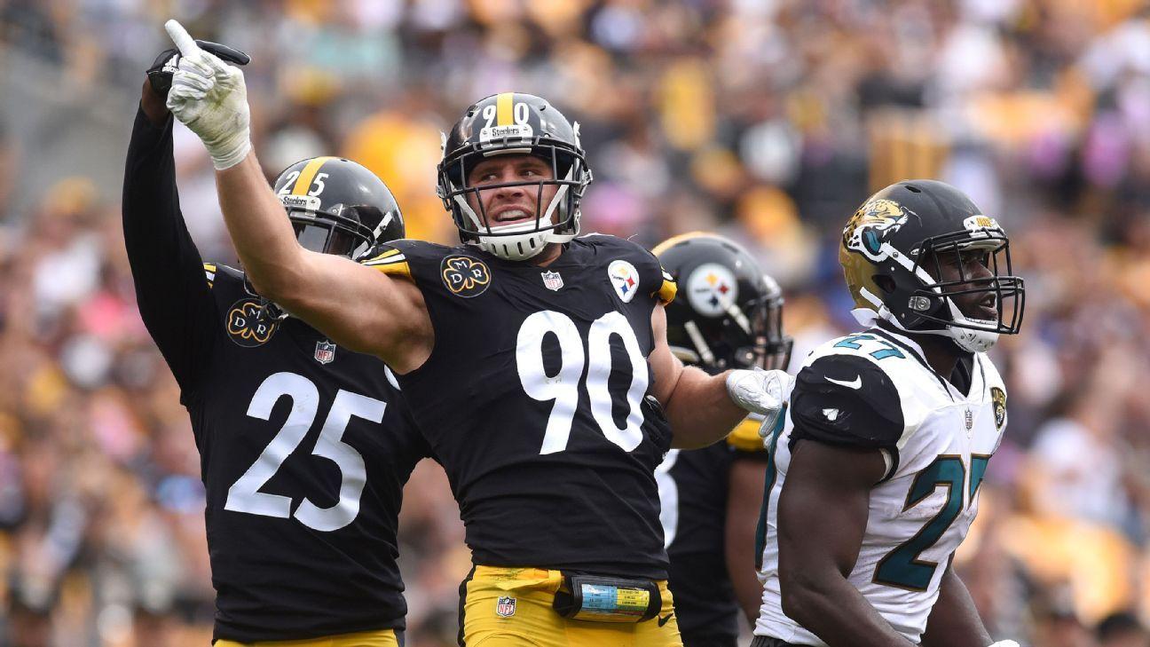 Najee Harris' advice for Pittsburgh Steelers star T.J. Watt facing Las Vegas Raiders tackle Alex Leatherwood