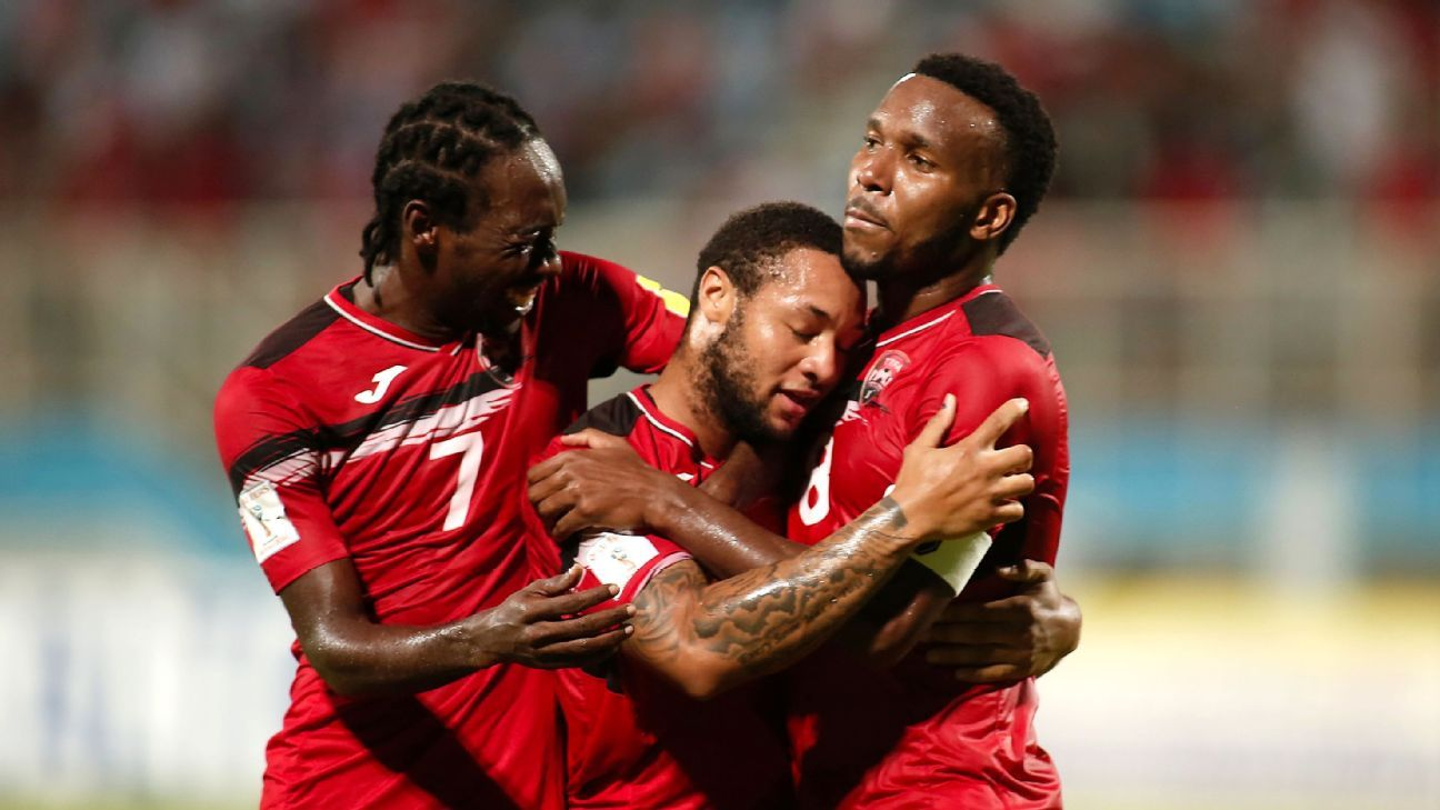 Nascar Racing Games >> Trinidad and Tobago vs. United States - Football Match Summary - October 10, 2017 - ESPN