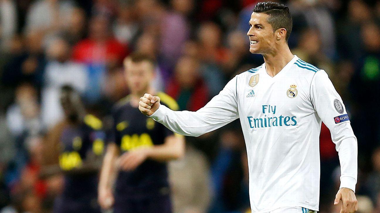 2873ba62e Real Madrid vs. Tottenham Hotspur - Football Match Report - October ...