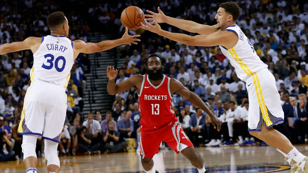 Warriors not focusing on Rockets as lone threat to title defense
