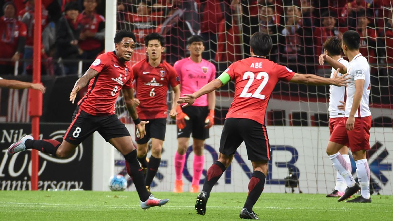 Urawa Red Diamonds Vs Shanghai Sipg Football Match Report October 18 2017 Espn
