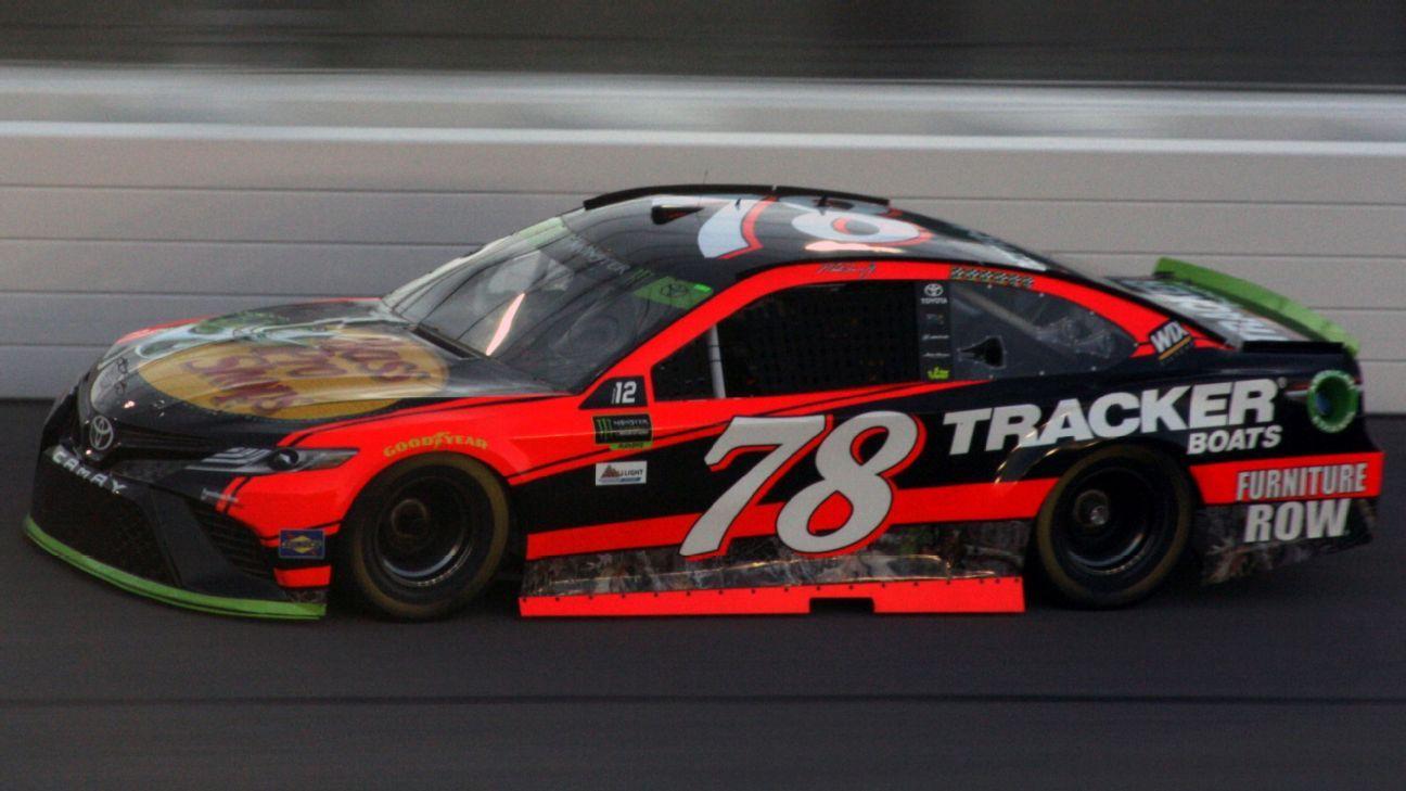 2017 Nascar Cup Series Paint Schemes Team 78 Furniture Row Racing