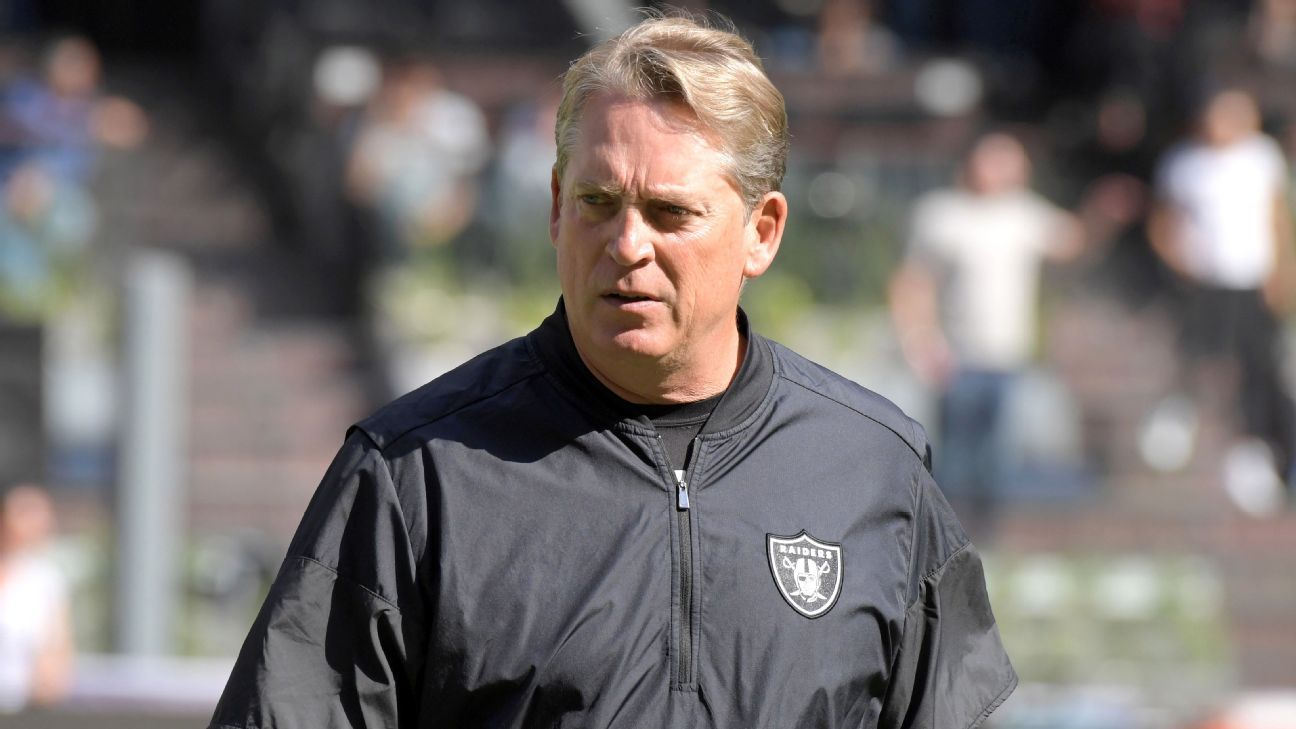 Former Raiders head coach Jack Del Rio is expected to be a candidate for the Bengals' defensive coordinator job, league sources told ESPN.