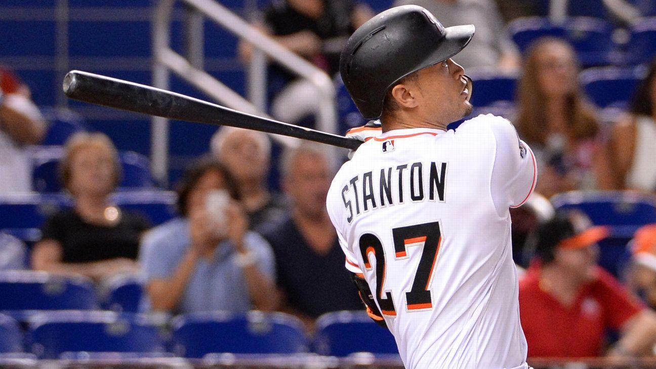 Stanton happy to escape Miami, join Yankees