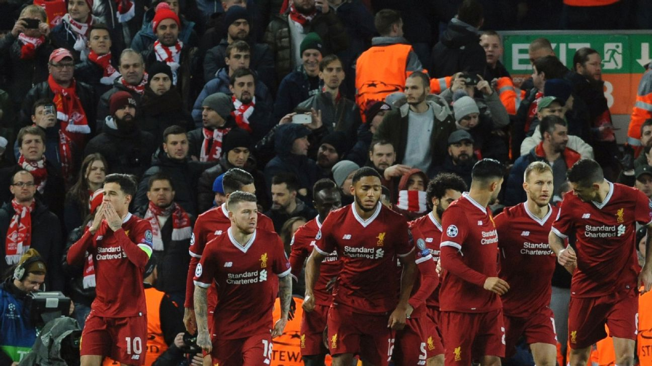 Early Goal Onslaught Sees Liverpool Cruise Into Champions border=