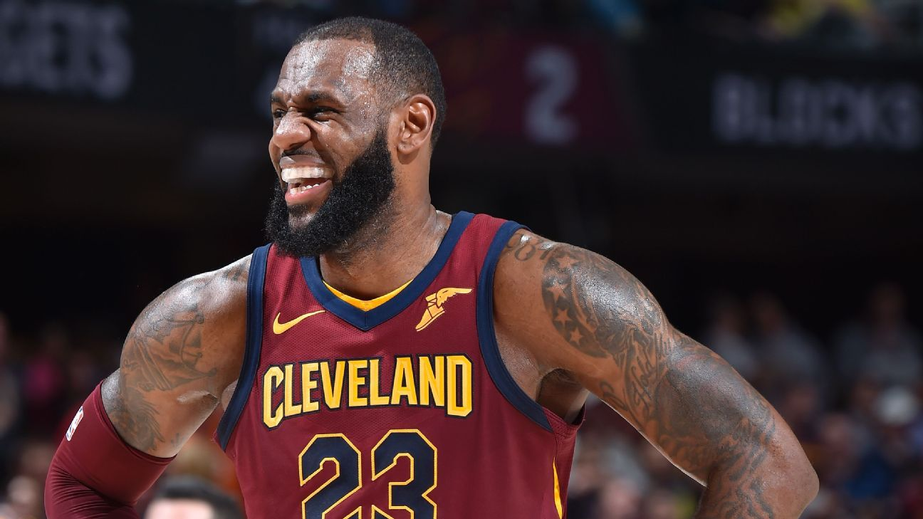 6a2a53bf65a4 Cleveland Cavaliers star LeBron James reflects on birthday