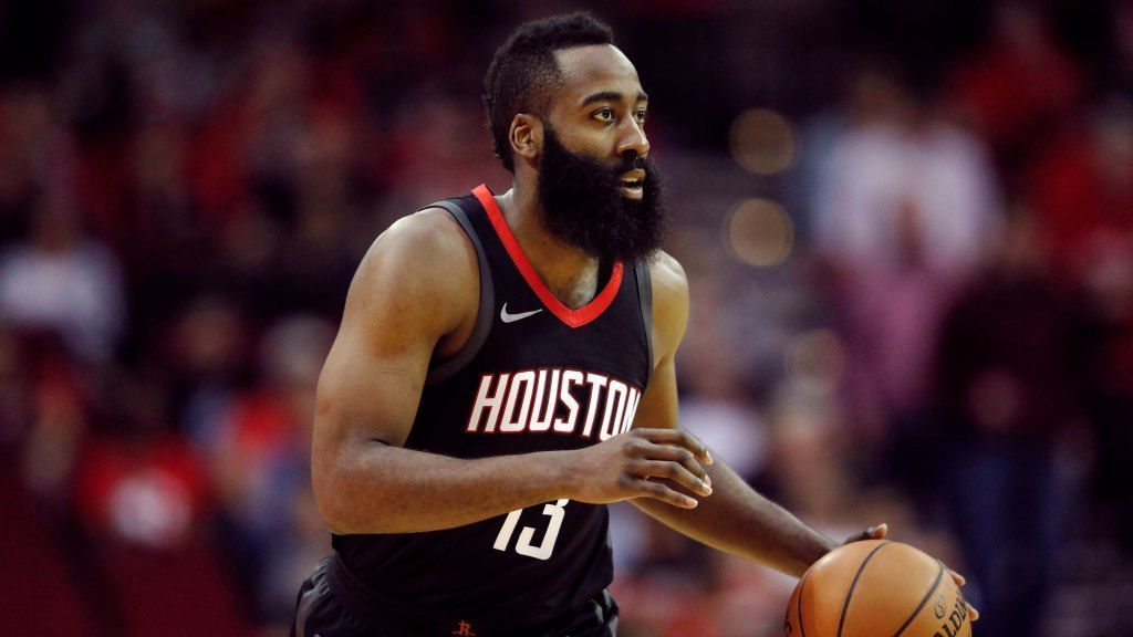 e84560f25828 James Harden of Houston Rockets out at least 2 weeks with hamstring strain