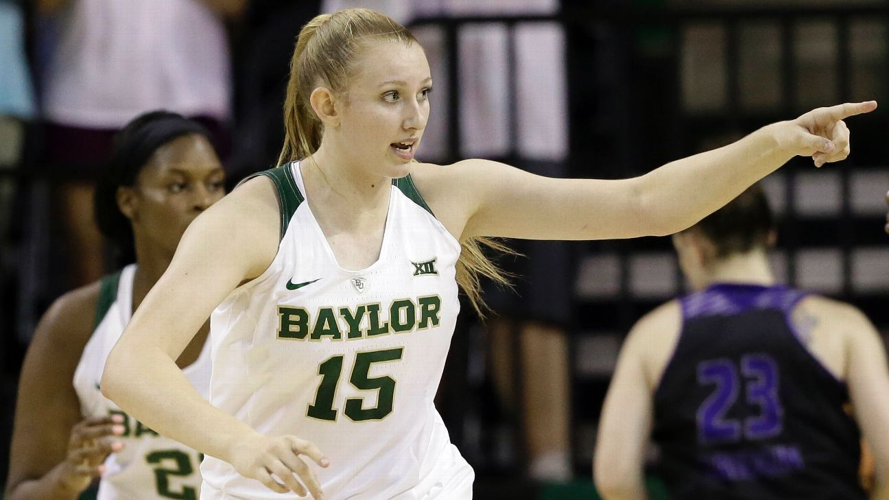 Baylor Lady Bears Kalani Brown, Lauren Cox Form Unstoppable Post Duo