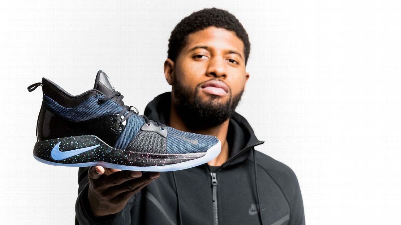 7e38e9bca9d2 Paul George s newest shoe aims to light up the NBA