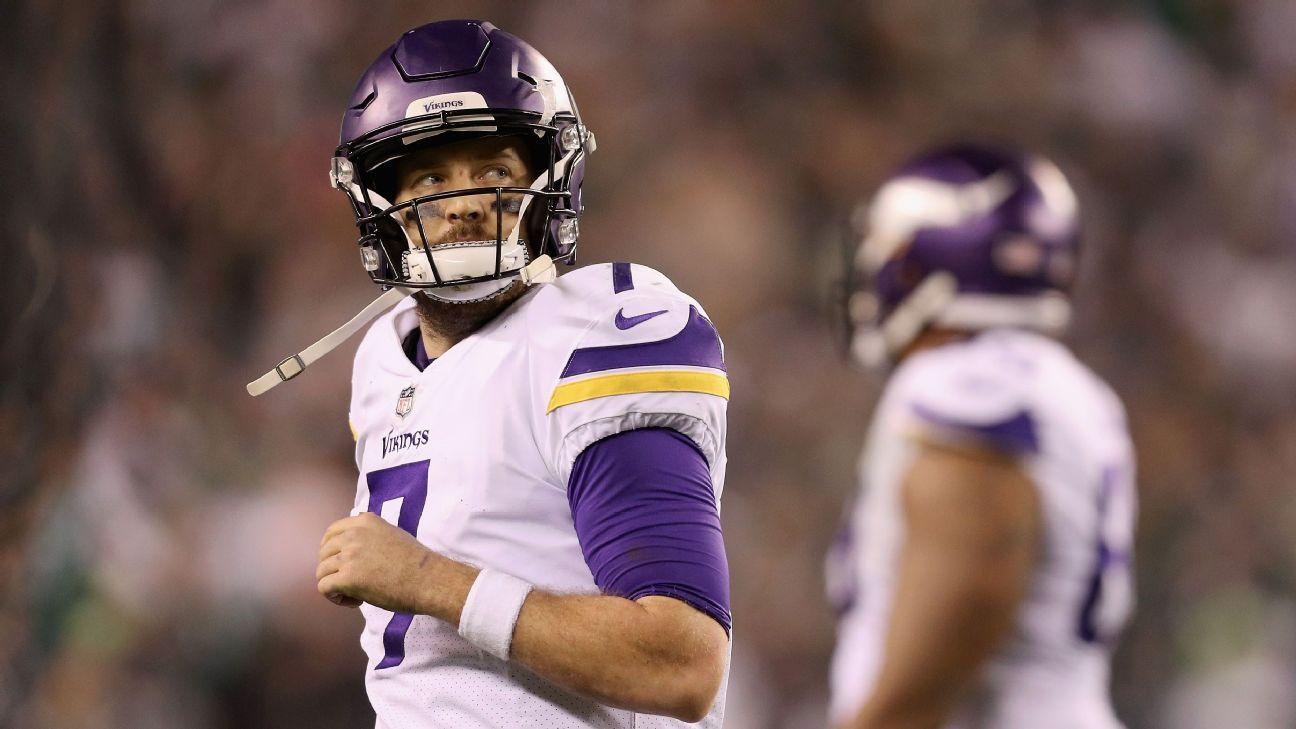 b849b7a50 Why Minnesota Vikings  marriage with Case Keenum wasn t going to last -  Minnesota Vikings Blog- ESPN