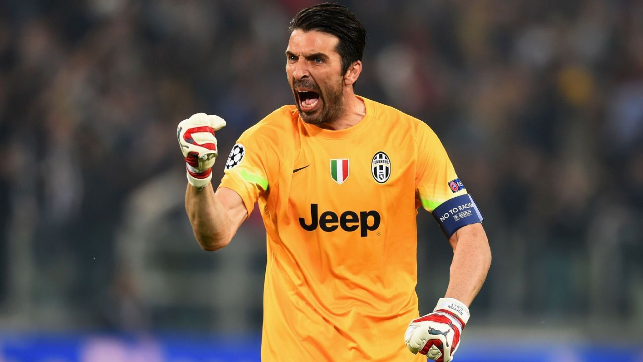 promo code 320ef 79c9c Gianluigi Buffon: 40 reasons to love the Juve, Italy legend ...