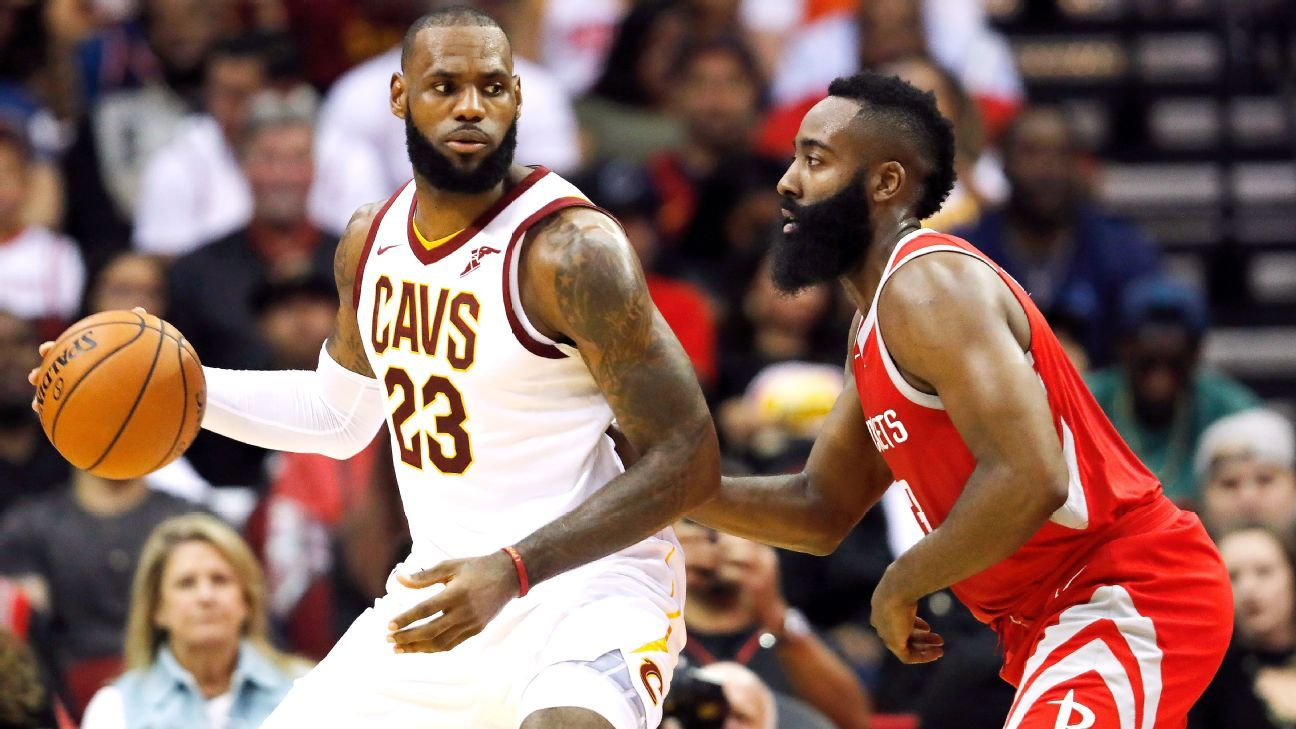 dd6522017ca0 Washington Wizards coach Scott Brooks says James Harden of Houston Rockets  and LeBron James of Cleveland Cavaliers both deserve MVP