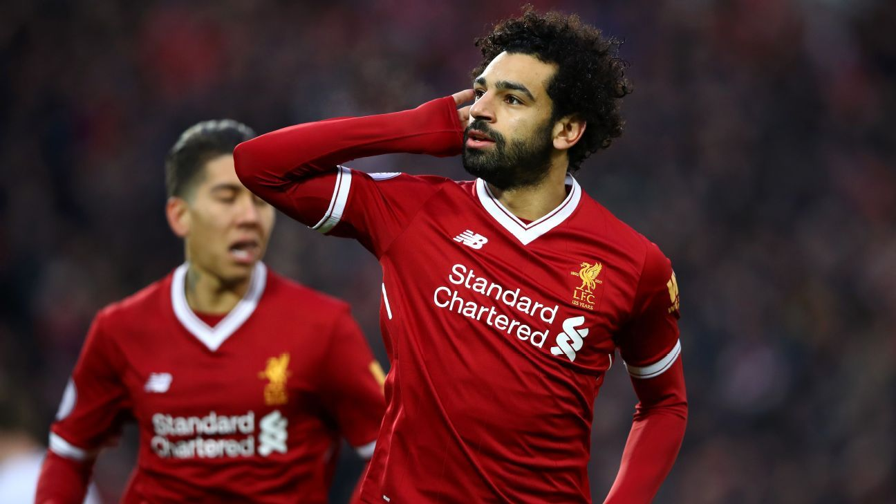 Liverpool's Mo Salah ignoring Real Madrid links and loving ...