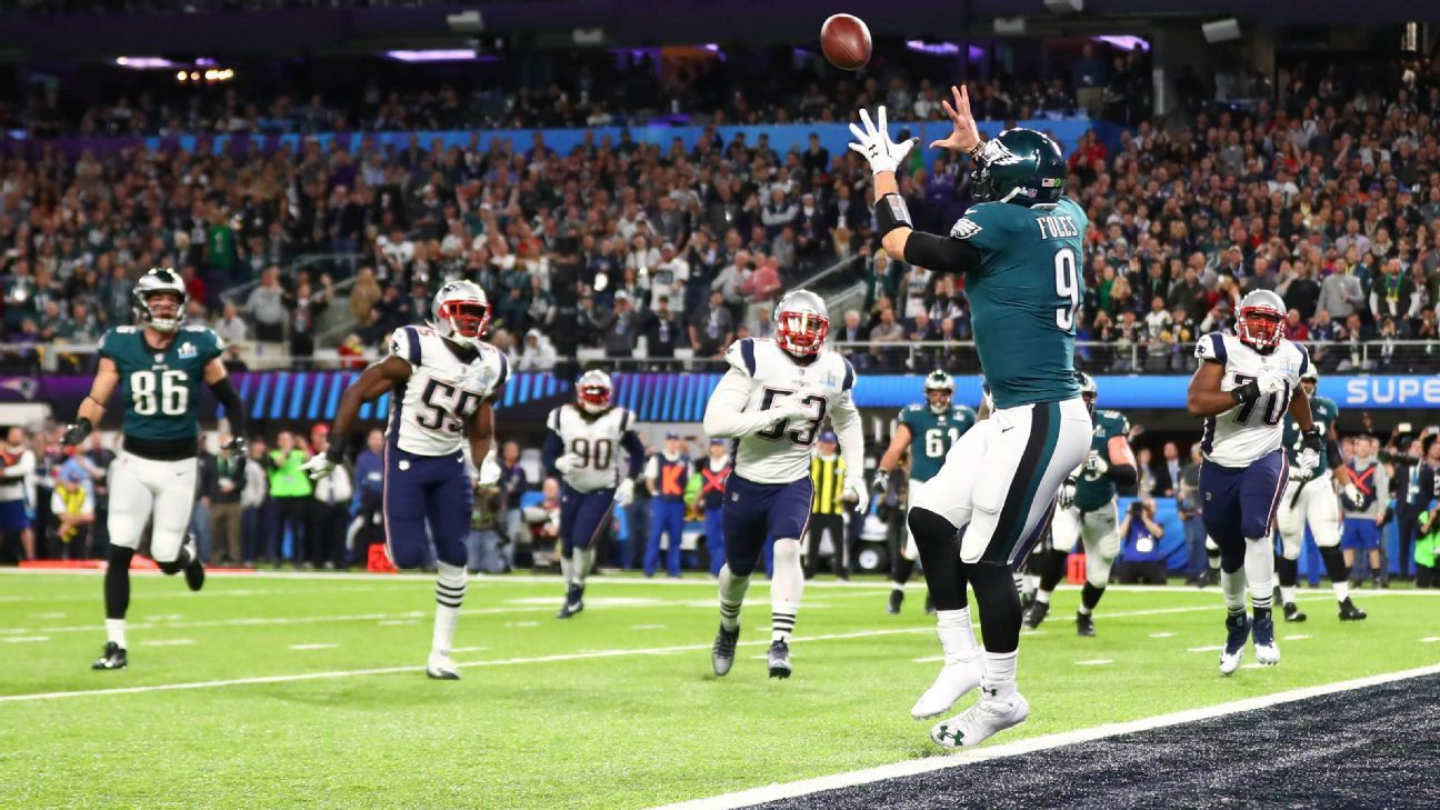 67058adf3c0 Nick Foles of Philadelphia Eagles named MVP of Super Bowl LII