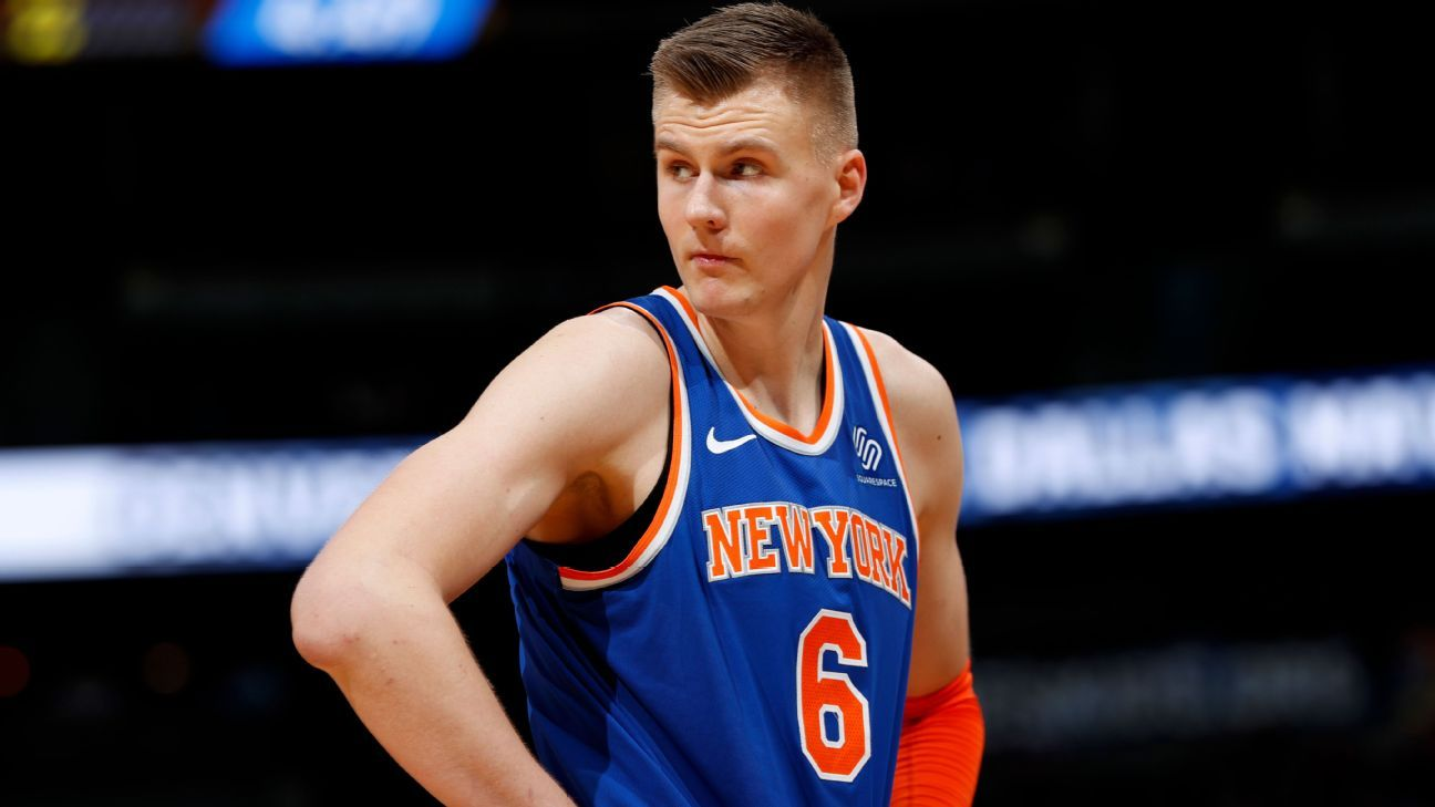 ae2939ca915c Injured New York Knicks star Kristaps Porzingis is confident he ll return  to All-Star form