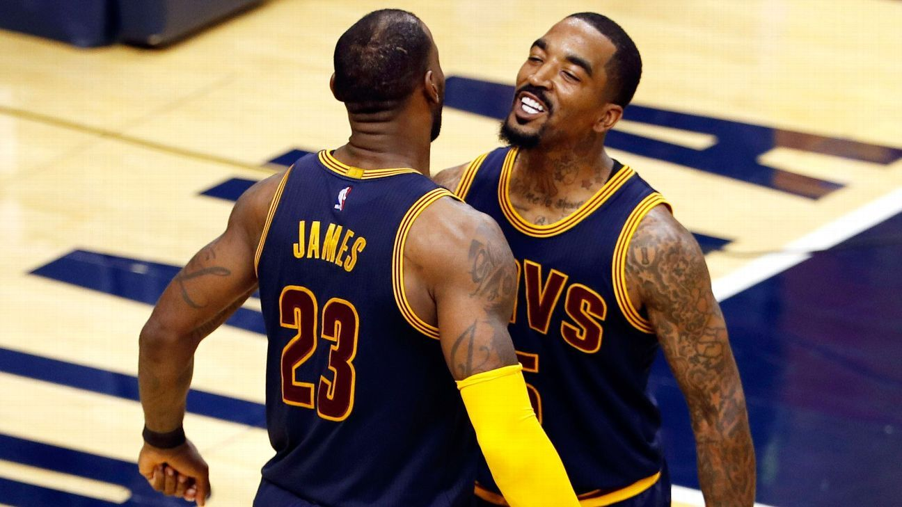 17e77fadb JR Smith survived the Cleveland Cavaliers  wild trade deadline just as he  found his groove - NBA