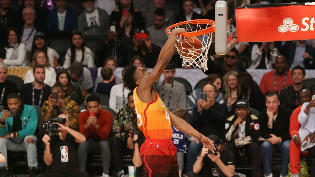 detailed look bdc6d fe06f NBA All-Star 2018: Grading the Slam Dunk Contest