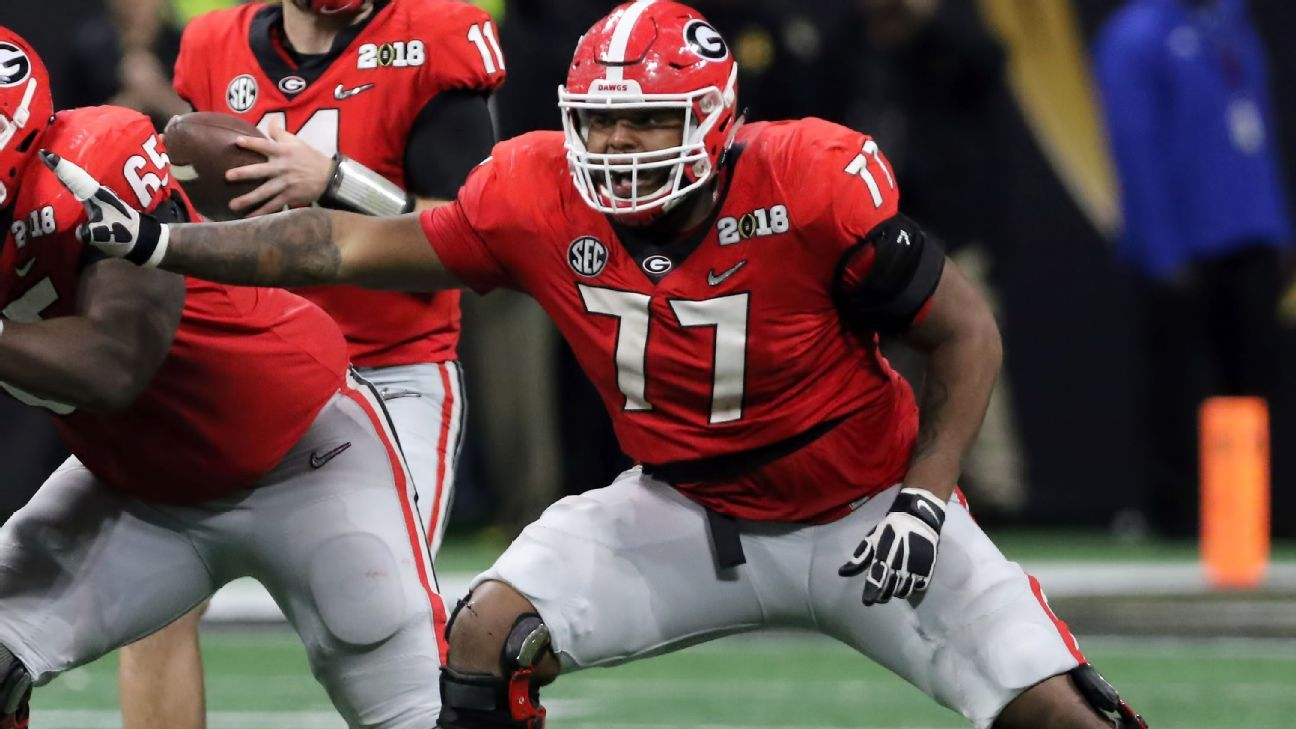 97f69a857 Mel Kiper Mock 2.0  Atlanta Falcons take Georgia s Isaiah Wynn - Atlanta  Falcons Blog- ESPN
