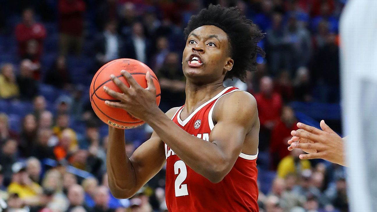 c56216601ac Collin Sexton of Alabama Crimson Tide enters NBA draft after freshman season