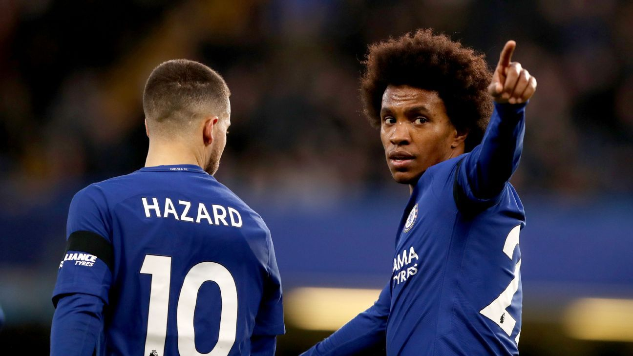 4b685cff Transfer Talk: Man United eager to bring Chelsea's Willian to Old Trafford