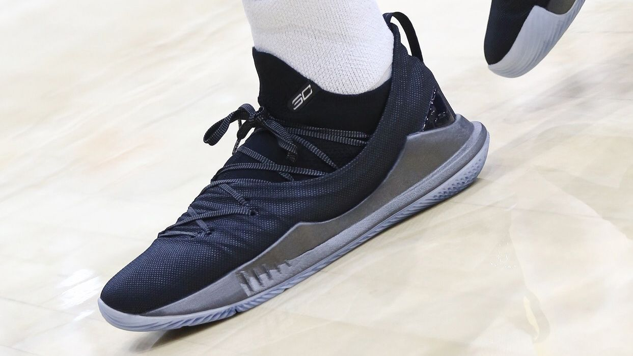 stephen curry debuts new under armour sneaker on 30th birthday