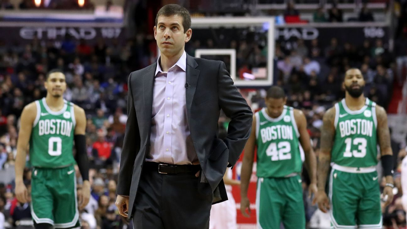 Dad jokes and a Ms. Pac-Man hiatus  How Brad Stevens navigated the Boston  Celtics  injury woes - NBA 7e85872a7