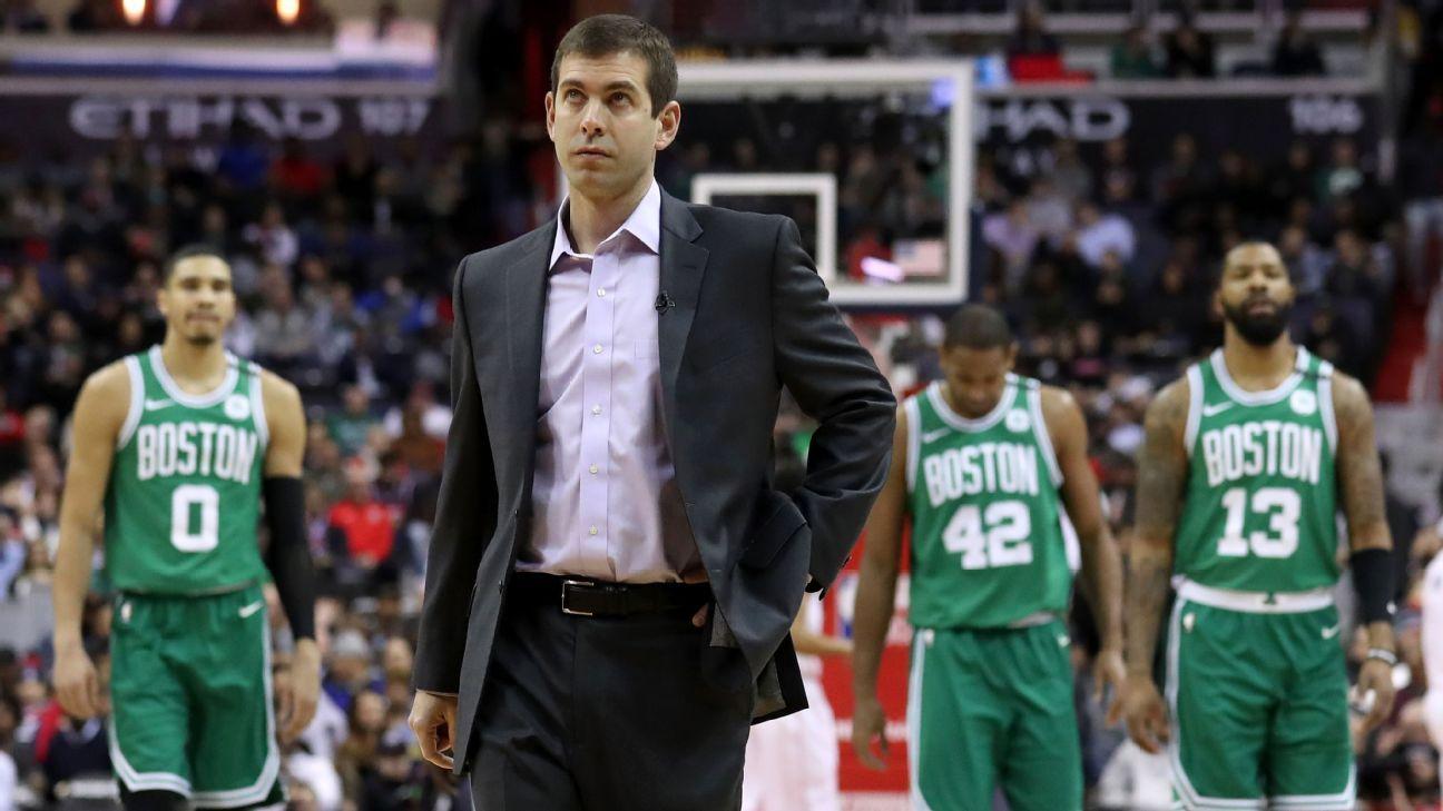Dad jokes and a Ms. Pac-Man hiatus  How Brad Stevens navigated the Boston  Celtics  injury woes - NBA 7e85872a7