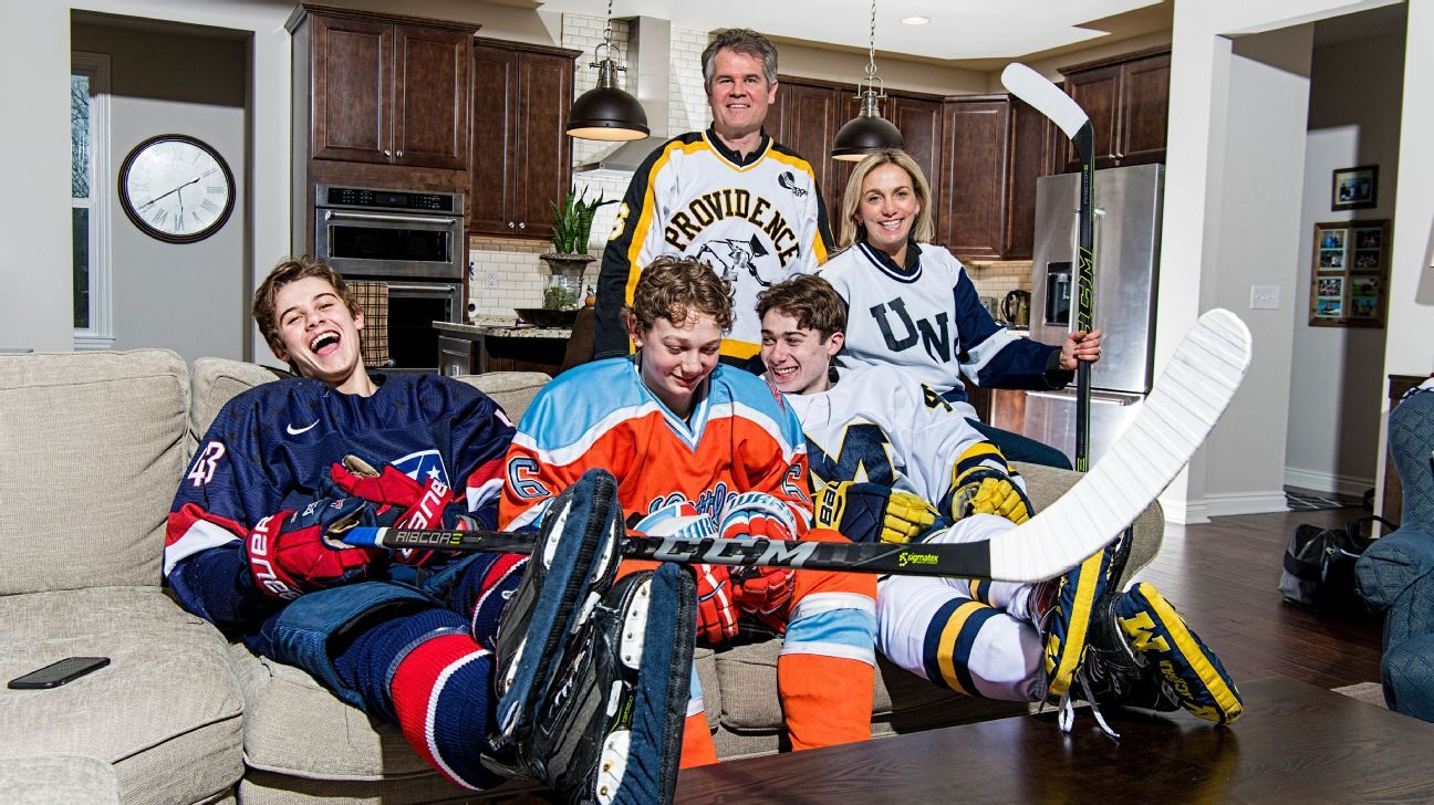 99b4d4f34b356 Meet the Hughes brothers, America's future first family of hockey - NHL