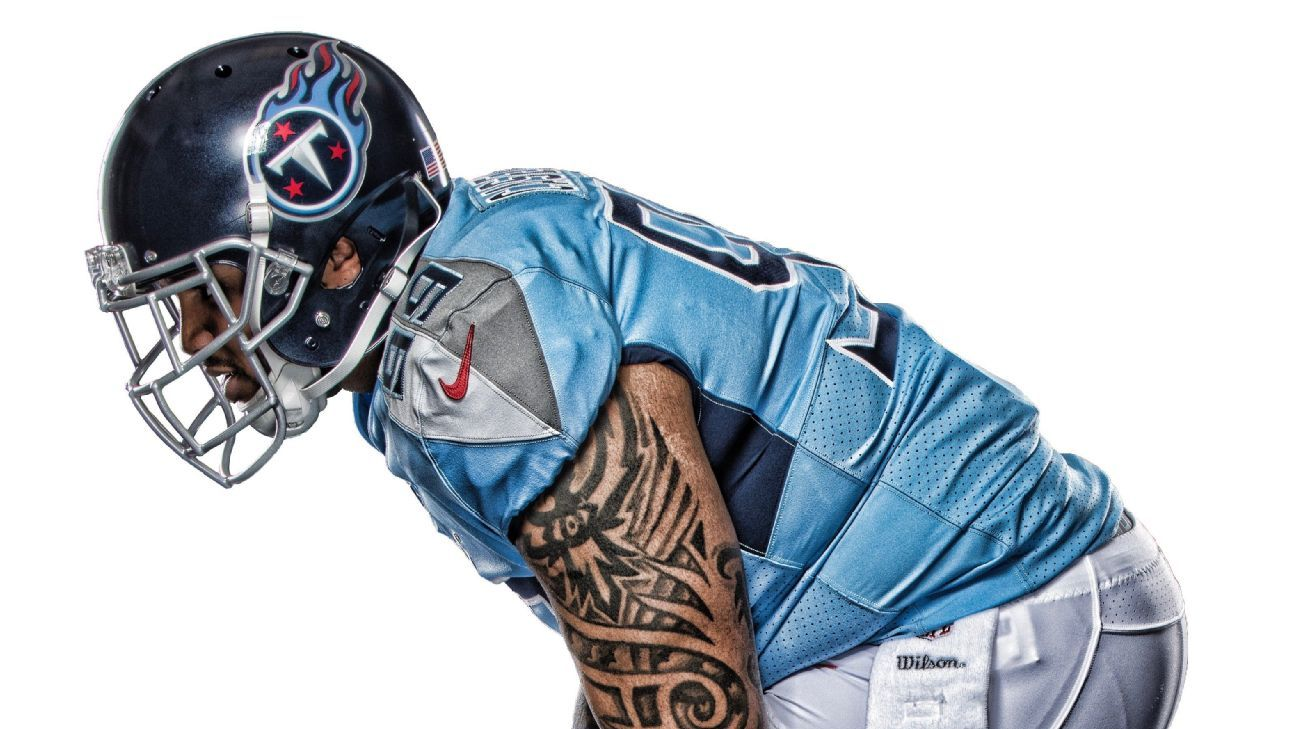 sports shoes 73534 97587 Titans' new uniforms: How we got here and first impressions ...