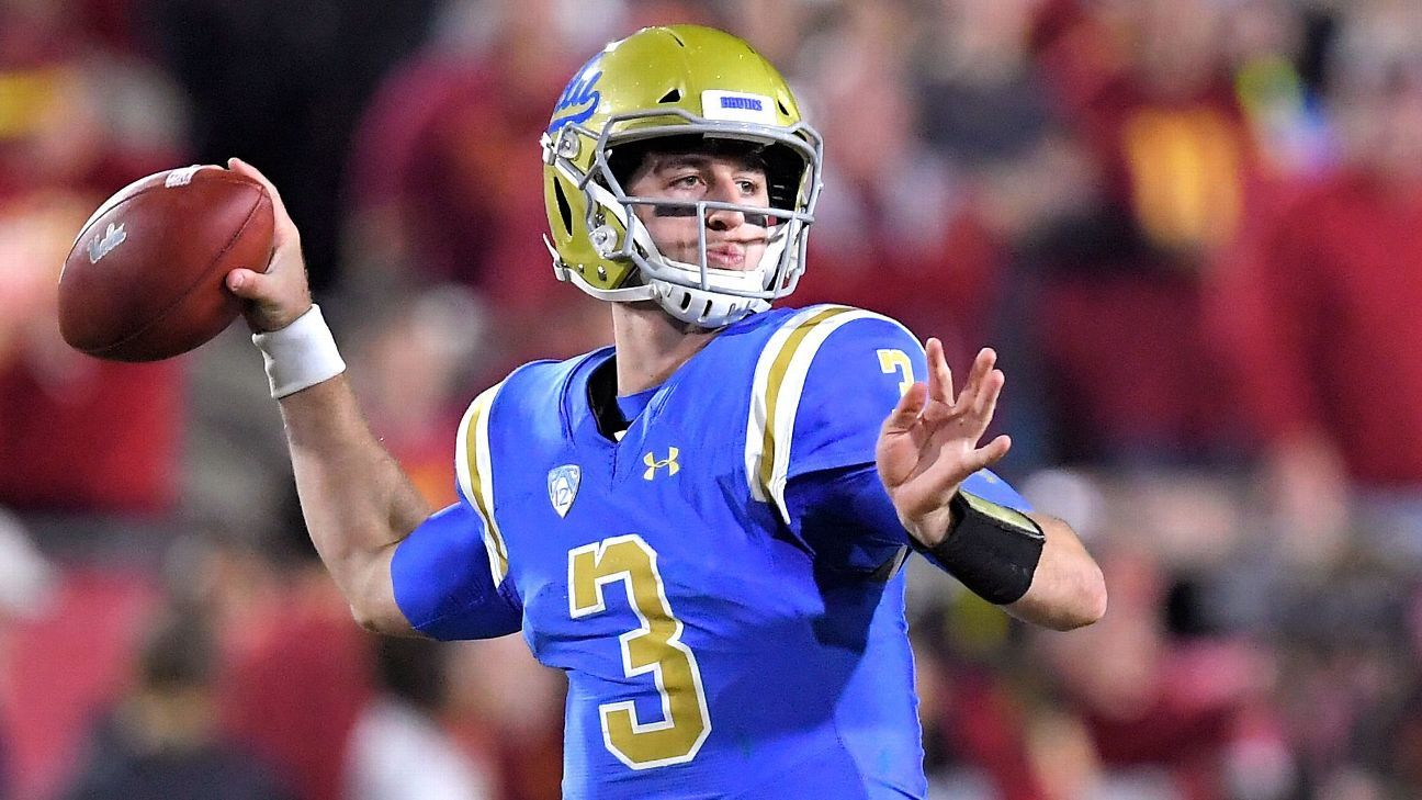 Josh Rosen could be choice if Jets play it safe with quarterback pick - New  York Jets Blog- ESPN f0264728e