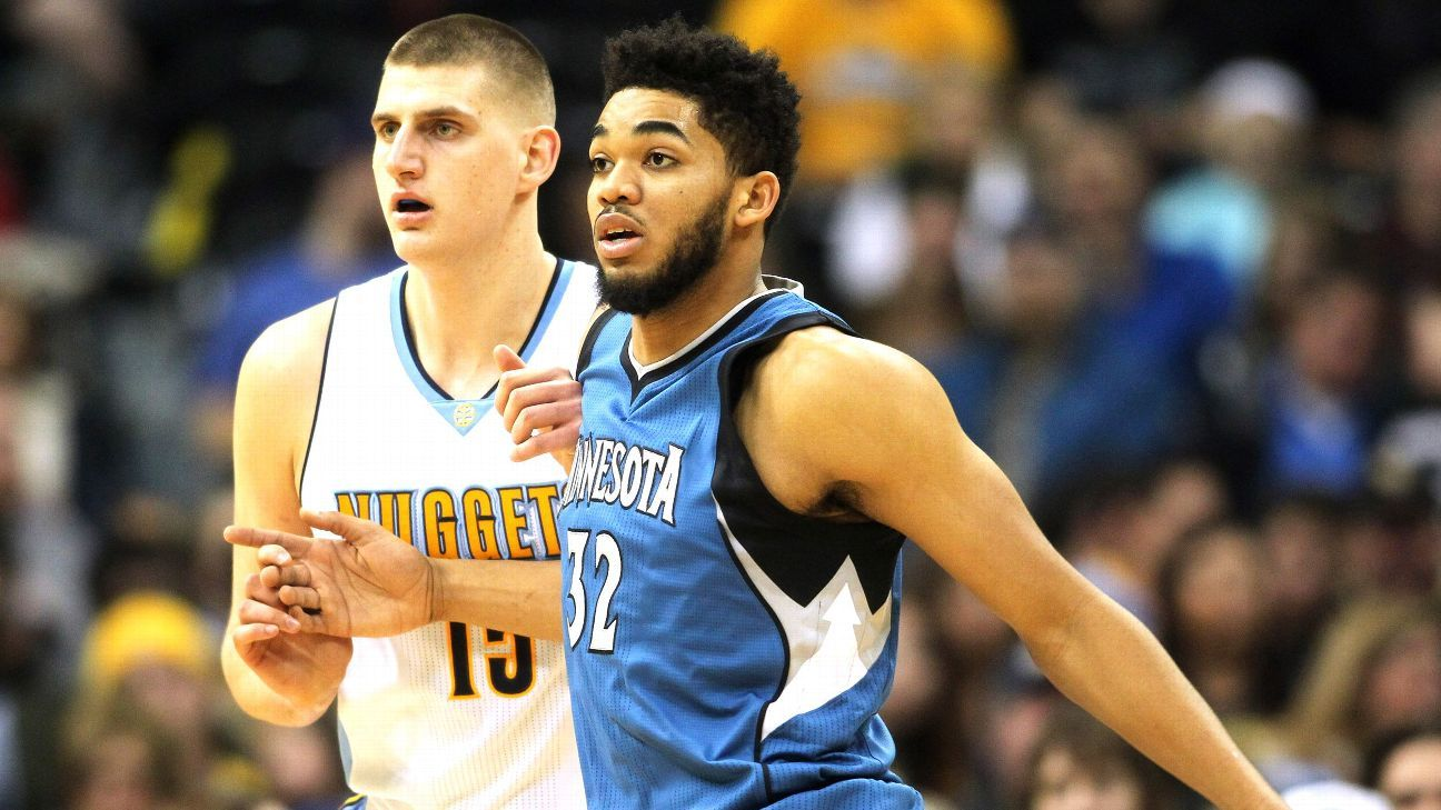 Buy or sell: Towns has a higher star ceiling than Jokic and Embiid