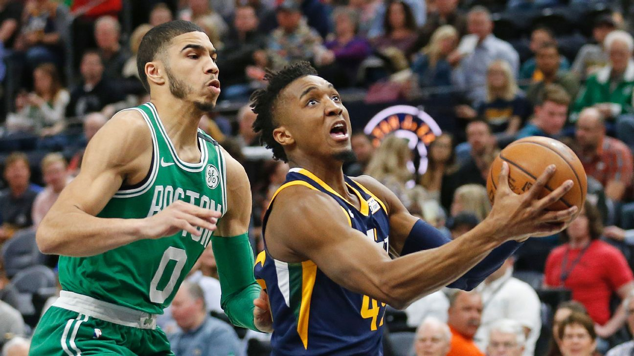 7b2791842 Who has been the best rookie this season -- Ben Simmons or Donovan Mitchell