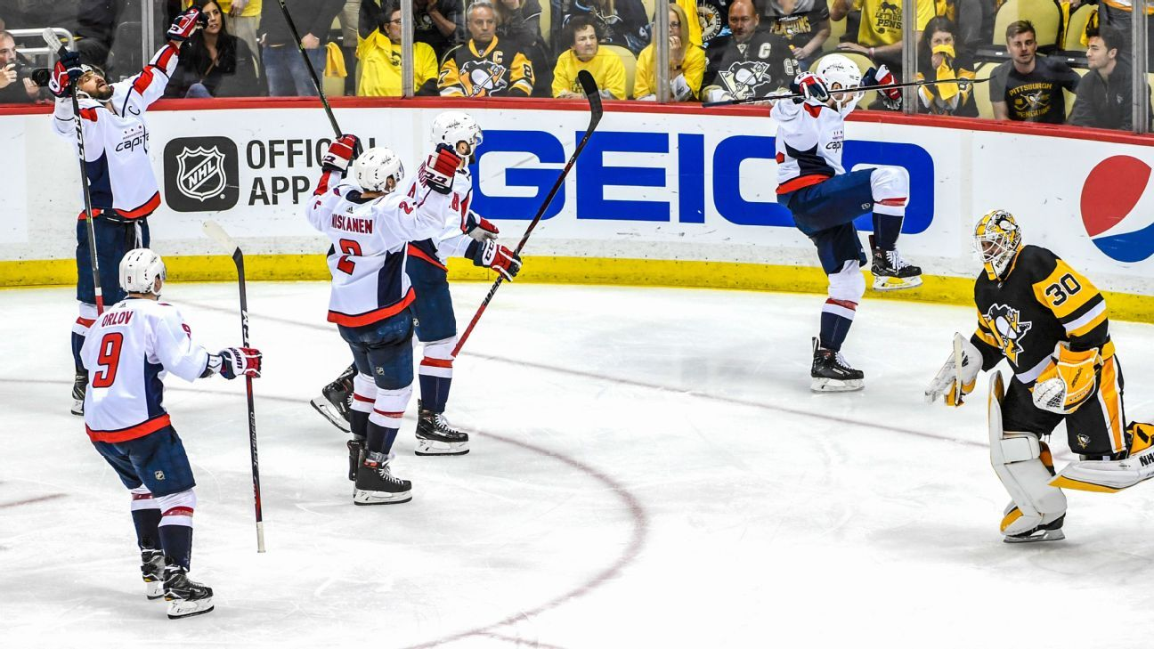 37ce8bf8bae 2018 Stanley Cup Playoffs - Washington Capitals