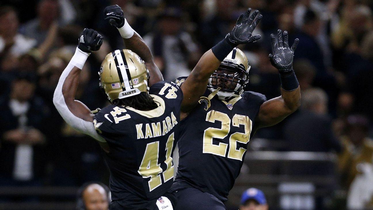 Alvin Kamara will be Saints  1A and 1B during Mark Ingram ban - New Orleans  Saints Blog- ESPN 88cb8339b