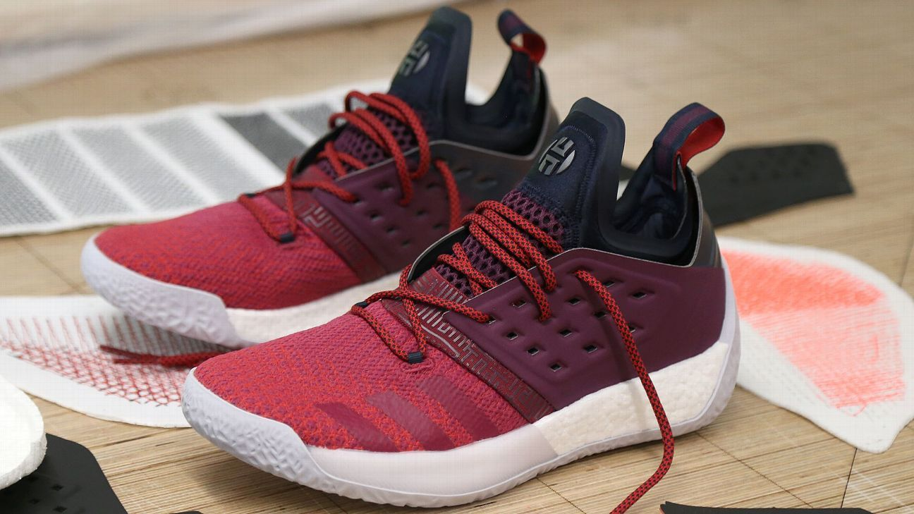 c46f6cb5481f How James Harden s sneakers have fueled his MVP season