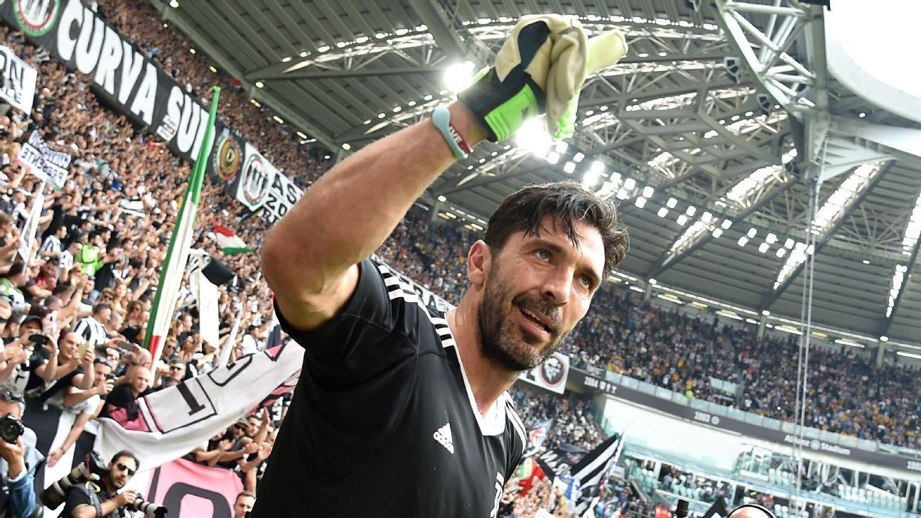 5a3c8311cde Juventus  Gianluigi Buffon  deserved a goodbye like that  - Massimiliano  Allegri