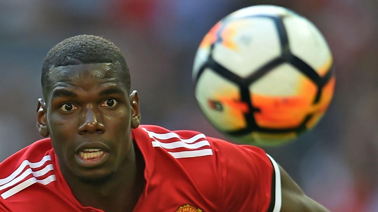 Utd resist Pogba bids, want centre-back - sources