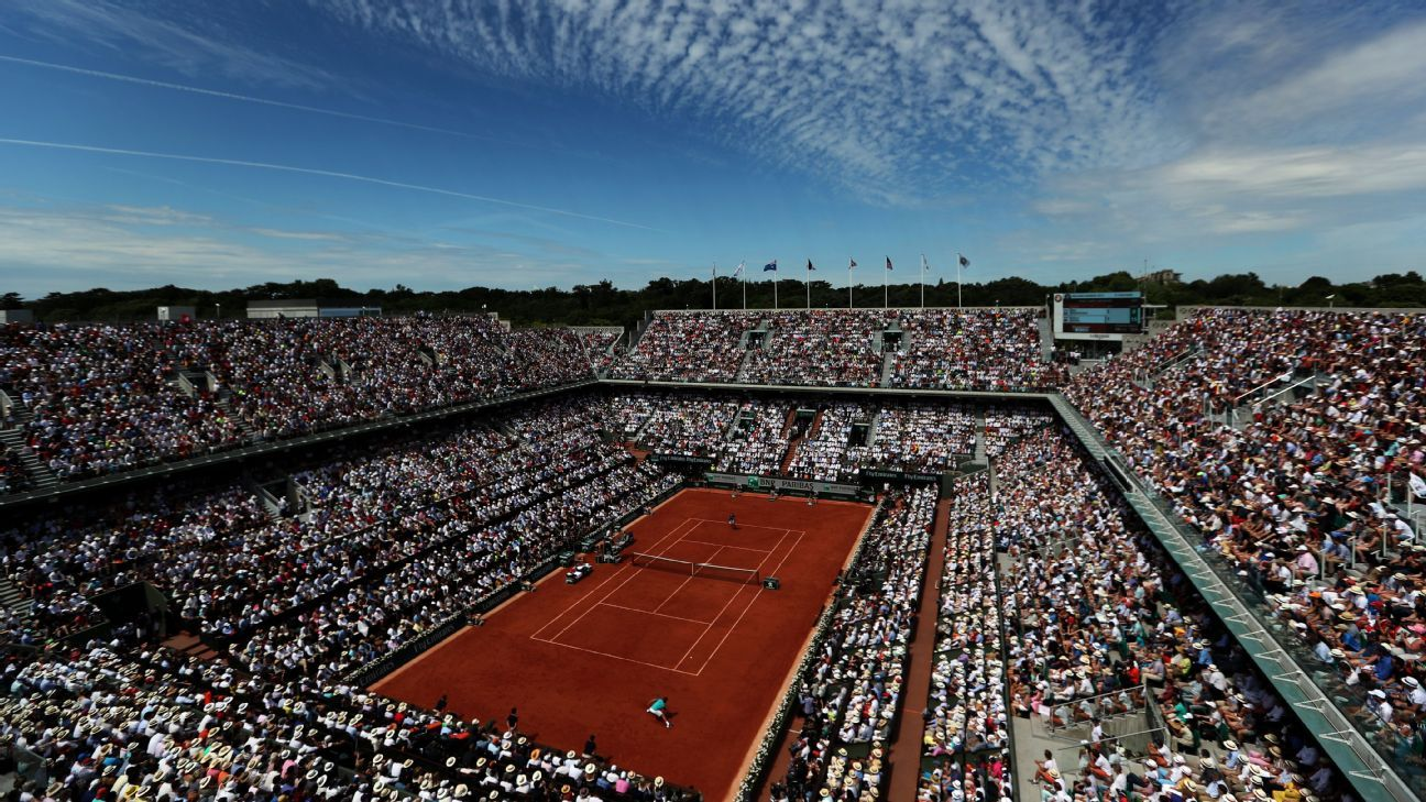 French Open tournament schedule, scores and coverage