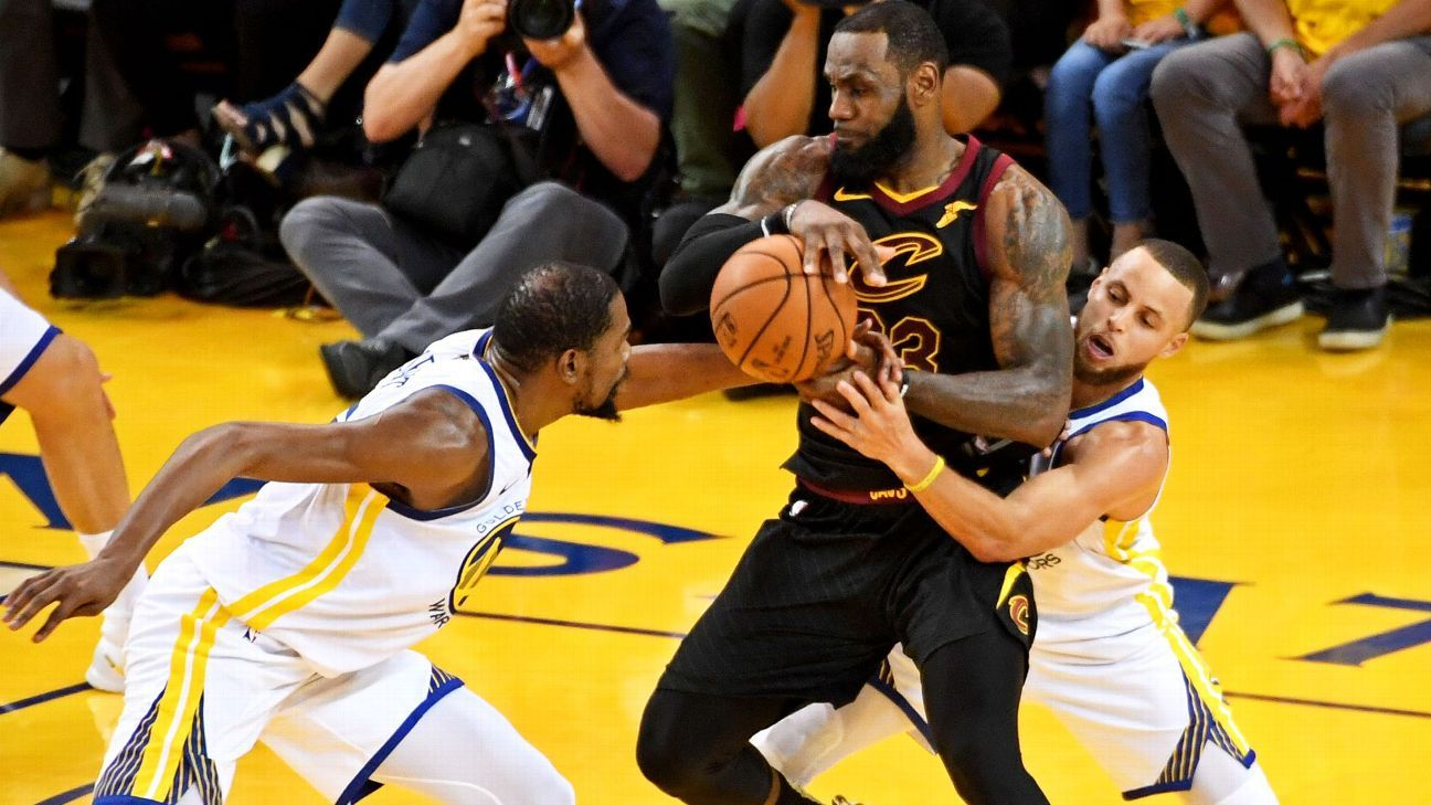 LeBron James of Cleveland Cavaliers --  Basketball IQ  key to toppling  Golden State Warriors fd034b224